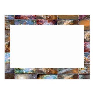 Cartão Postal Beira artística - adicione sua texto ou imagem