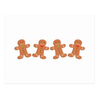 Cartão Postal Beira dos biscoitos do pão-de-espécie