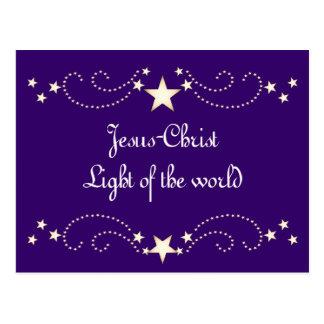 Cartão Postal Beira festiva da estrela