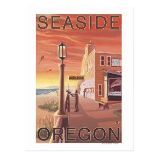 Cartão Postal Beira-mar, opinião de OregonAquarium