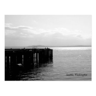 Cartão Postal Beira-rio de Seattle