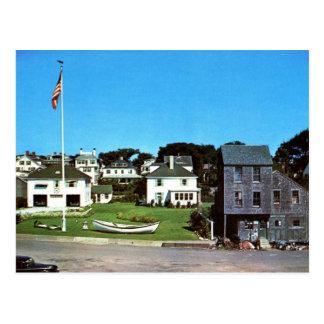 Cartão Postal Beira-rio, Edgartown, vintage das MÃES