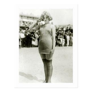 Cartão Postal Beleza de Atlantic City, 1900s adiantados