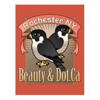 Cartão Postal Beleza de Rochester & Dot.Ca