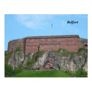 Cartão Postal Belfort -