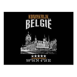 Cartão Postal Bélgica