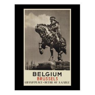 Cartão Postal Bélgica Bruxelas