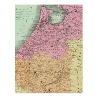 Cartão Postal Bélgica e Holland