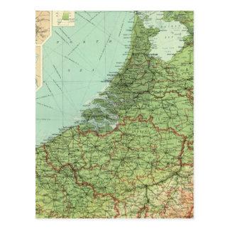 Cartão Postal Bélgica & Holland