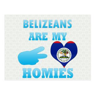 Cartão Postal Belizences são meu Homies