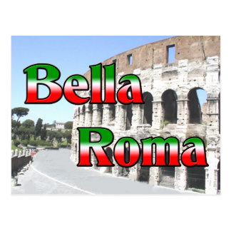 Cartão Postal Bella Roma