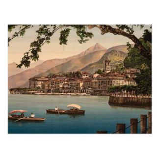 Cartão Postal Bellagio, lago Como