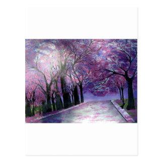 Cartão Postal Belle Fleur