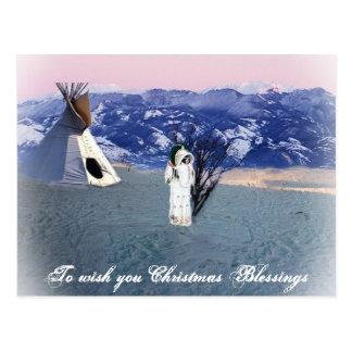 Cartão Postal Bênção do Natal