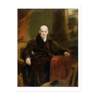 Cartão Postal Benjamin (1738-1820) 1810 ocidental (óleo no