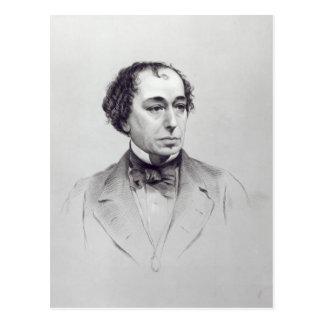 Cartão Postal Benjamin Disraeli, ø conde Beaconsfield