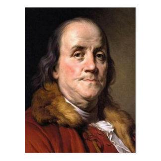 Cartão Postal Benjamin Franklin