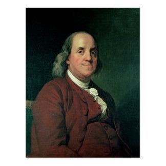 Cartão Postal Benjamin Franklin, 1782