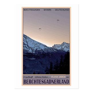 Cartão Postal Berchtesgaden - Fliege Hoch!