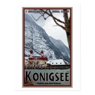 Cartão Postal Berchtesgaden - St Bartholomew