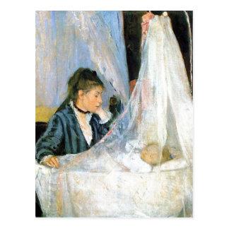 Cartão Postal Berço de Berthe Morisot Le berceau Techniqu 1872