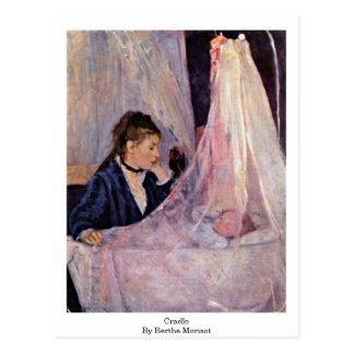 Cartão Postal Berço por Berthe Morisot
