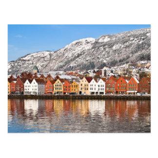 Cartão Postal Bergen