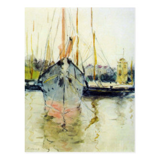 Cartão Postal Berthe Morisot - Midina na entrada ao Isl