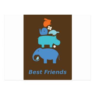 Cartão Postal BestFriends