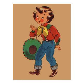Cartão Postal Betty a vaqueira