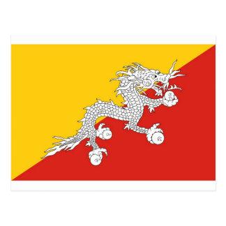 Cartão Postal Bhutan