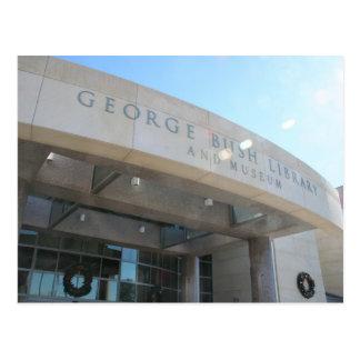 Cartão Postal Biblioteca de George Bush