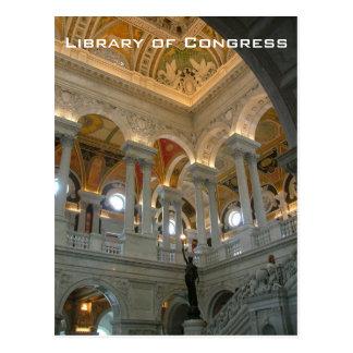 Cartão Postal Biblioteca do Congresso