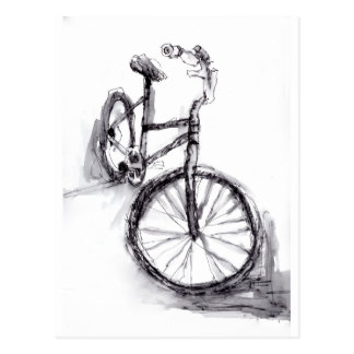 Cartão Postal Bicicleta