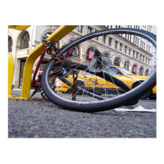 Cartão Postal Bicicleta de NYC
