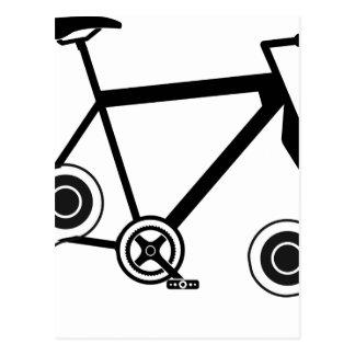 Cartão Postal Bicicleta do girador da inquietação