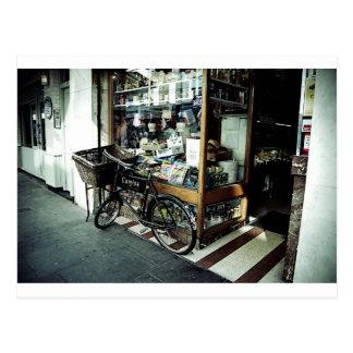 Cartão Postal Bicicleta em Soho