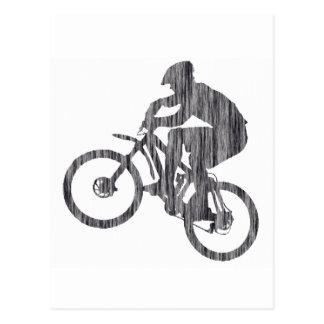 Cartão Postal Bicicleta Jimi obscuro