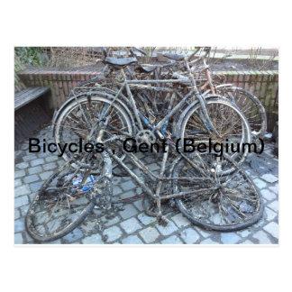 Cartão Postal Bicicletas, Ghent (Bélgica)