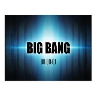 Cartão Postal Big Bang