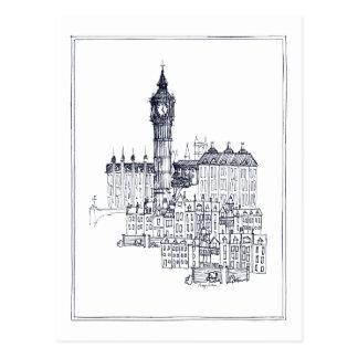 Cartão Postal Big Ben