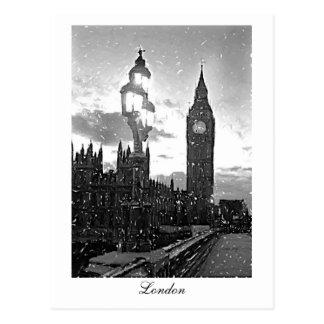 Cartão Postal Big Ben, Londres