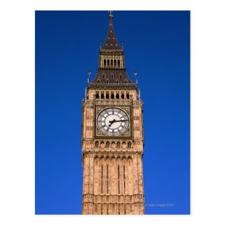 Cartão Postal Big Ben no capital britânico