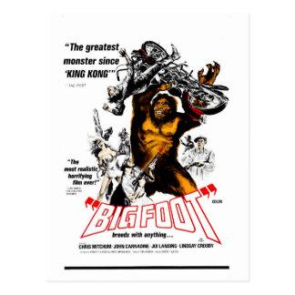 Cartão Postal Bigfoot!