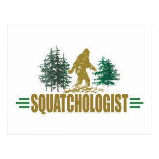 Cartão Postal Bigfoot engraçado, Sasquatch