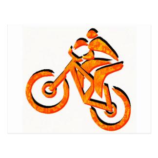 Cartão Postal Bike todos os climas