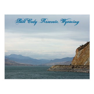 Cartão Postal Bill Cody Resevoir, Wyoming