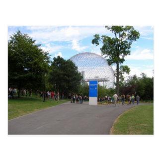 Cartão Postal Biodome Montreal