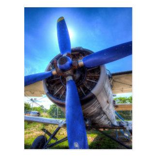 Cartão Postal Biplano de Antonov AN-2