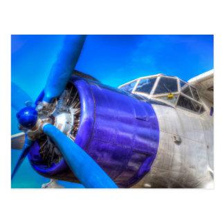 Cartão Postal Biplano do vintage de Antonov AN-2